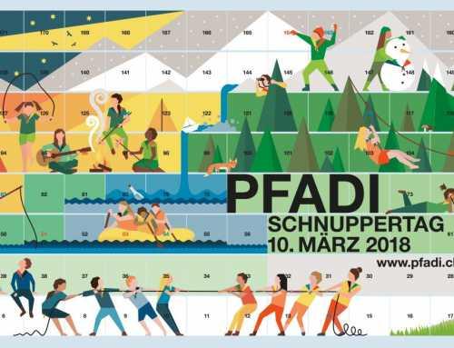 Schnuppertag 2018: Die Pfadi lädt zum Entdecken ein